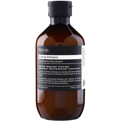nährendes Shampoo für widerspenstiges Haar