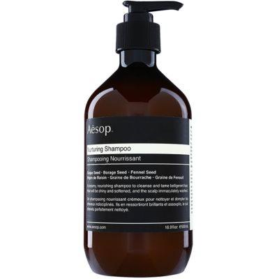 Aēsop Hair Nurturing tápláló sampon a rakoncátlan hajra