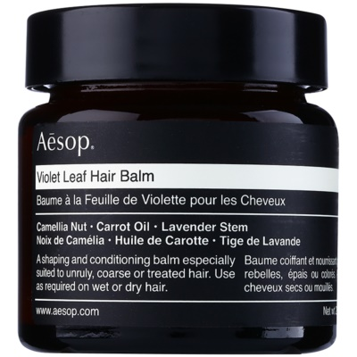 Aésop Hair Violet Leaf bálsamo remodelador para cabello encrespado y rebelde