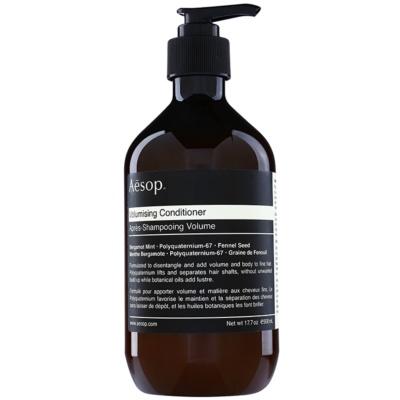 après-shampoing volume pour cheveux fins