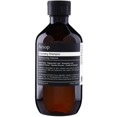 Volumen-Shampoo für feines Haar