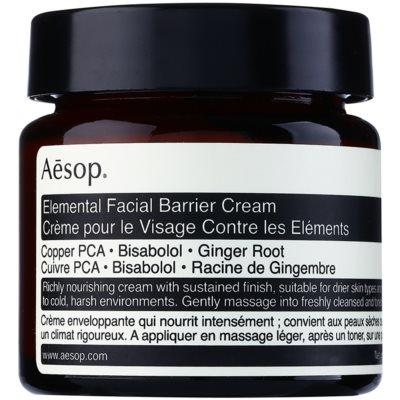 Aésop Skin Elemental intenzívny hydratačný krém pre obnovu kožnej bariéry