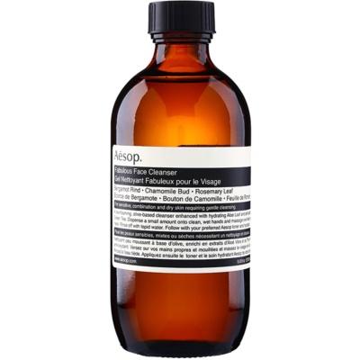gel limpiador para pieles sensibles y secas
