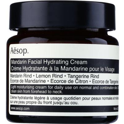Aésop Skin Mandarin лек хидратиращ дневен крем за нормална към смесена кожа