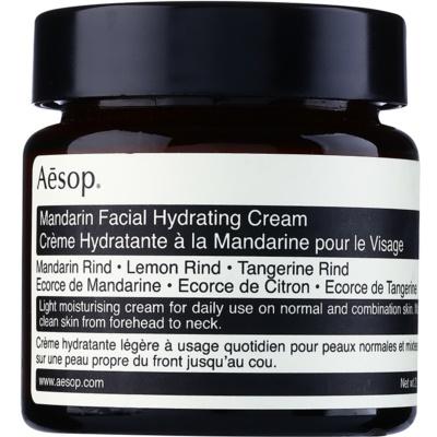 Aēsop Skin Mandarin легкий зволожуючий денний крем для нормальної та змішаної шкіри