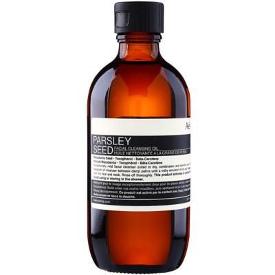 jemný čisticí olej pro suchou až citlivou pleť
