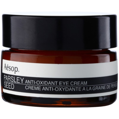 crème antioxydante yeux