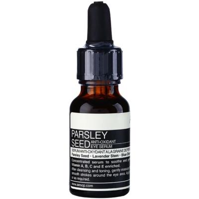 Aésop Skin Parsley Seed sérum antioxidante para contorno de ojos