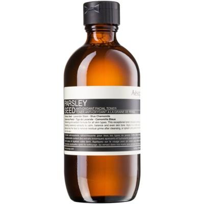antioxidační tonikum pro všechny typy pleti
