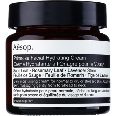Aésop Skin Primrose ενυδατική κρέμα  για κανονική έως ξηρή επιδερμίδα