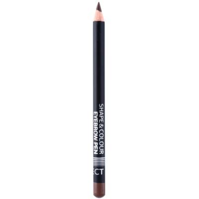 crayon pour sourcils avec brosse
