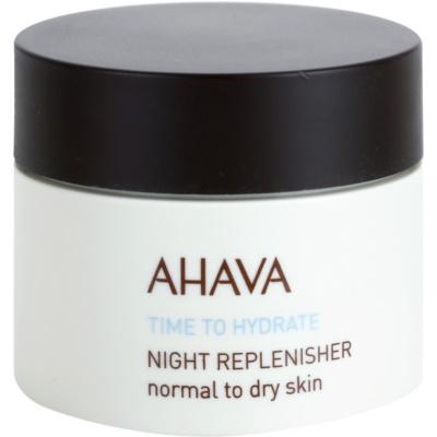 nočna regeneracijska krema za normalno do suho kožo
