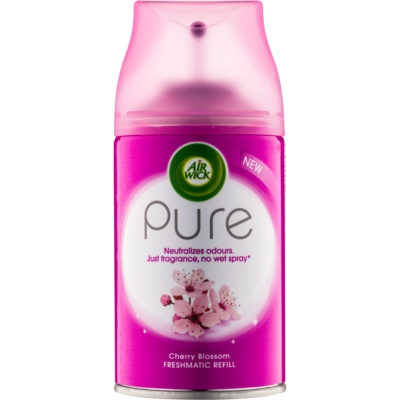 Air Wick Pure Cherry Blossom Automatic Air Freshener  Refill