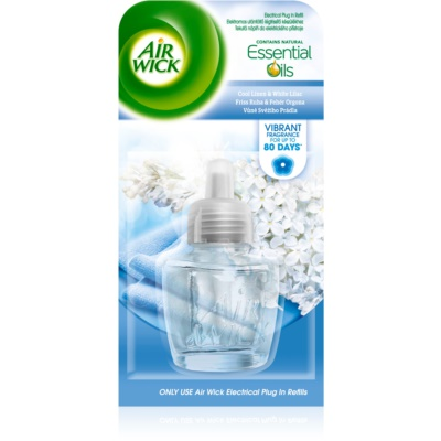 Air Wick Essential Oils Cool Linen & White Lilac EFR 19 ml utántöltő