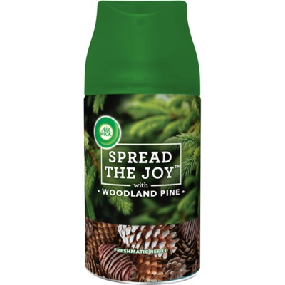 Air Wick Spread the Joy Woodland Pine automatic air freshener  Refill