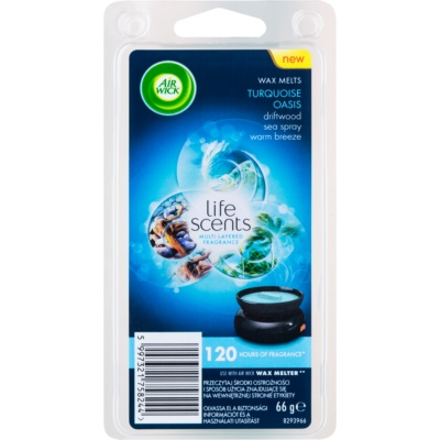 Air Wick Life Scents Turquoise Oasis cera derretida aromatizante