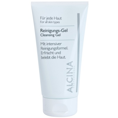 Cleansing Gel with Aloe Vera and Zinc