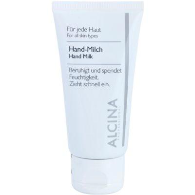 lait mains anti-sécheresse de la peau