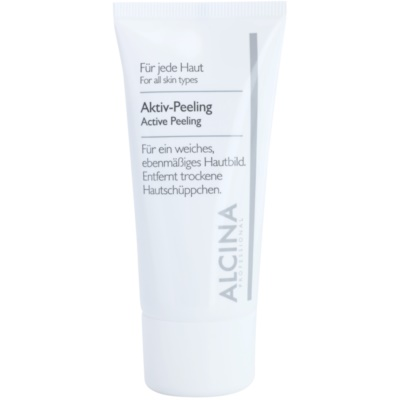 Esfoliante com efeito ativo para peles suaves e macias