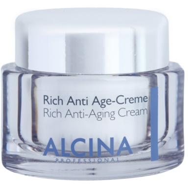 nährende Creme gegen Hautalterung