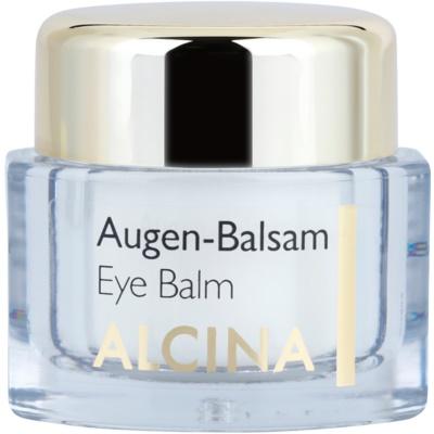 Balsam gegen Falten für die Augenpartien