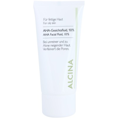 fluid za obraz z AHA kislinami 10%