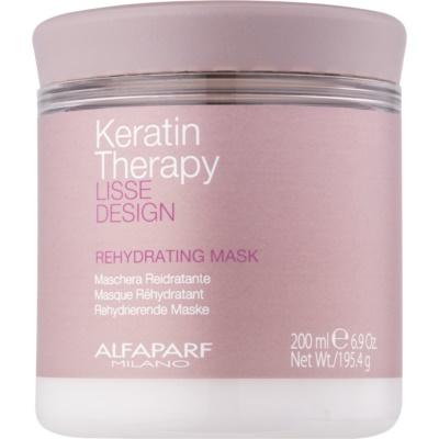 Alfaparf Milano Lisse Design Keratin Therapy підсушуюча маска для всіх типів волосся