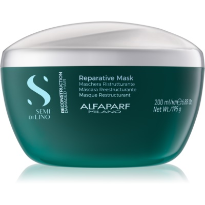Alfaparf Milano Semi di Lino Reconstruction Reparative Hair Mask For Damaged Hair