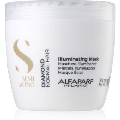 máscara iluminadora sem sulfatos e parabenos