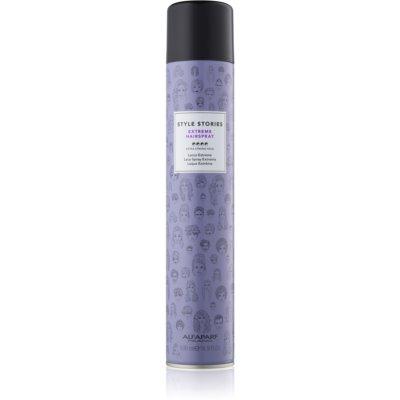 Alfaparf Milano Style Stories The Range Hairspray laca de cabelo com fixação extra forte