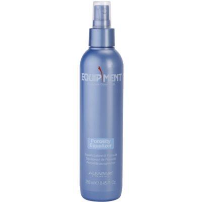spray équilibreur de porosité avant le traitement chimique