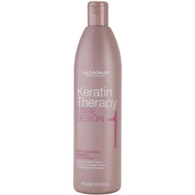 hloubkově čisticí šampon pro všechny typy vlasů