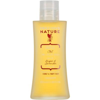 odżywczy olej do włosów kręconych i falistych
