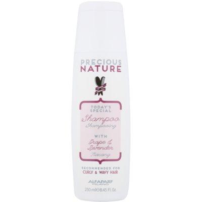 šampon za kodraste in valovite lase