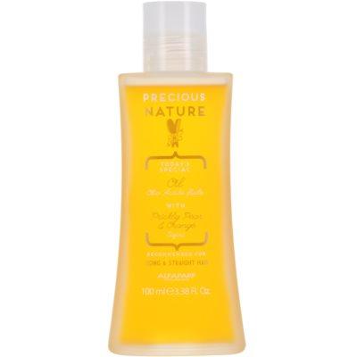 vyživující olej na vlasy