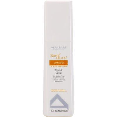 Spray für glänzendes und geschmeidiges Haar