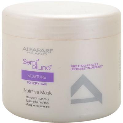 Maske mit ernährender Wirkung für trockenes und beschädigtes Haar