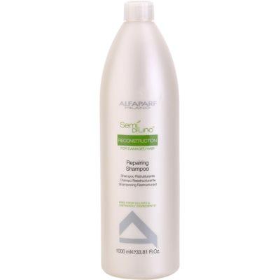 regenerační šampon pro poškozené vlasy