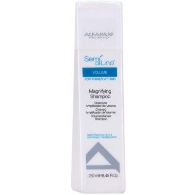 objemový šampon pro jemné a zplihlé vlasy