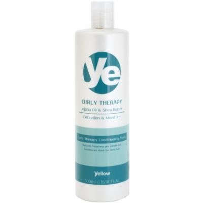hydratační kondicionér pro vlnité vlasy