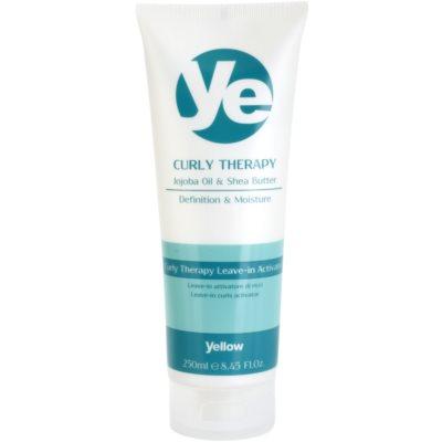bezoplachová hydratační péče pro vlnité vlasy