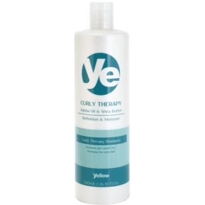 vlažilni šampon za valovite lase