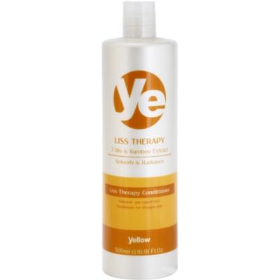 condicionador alisante para cabelo quimicamente tratado