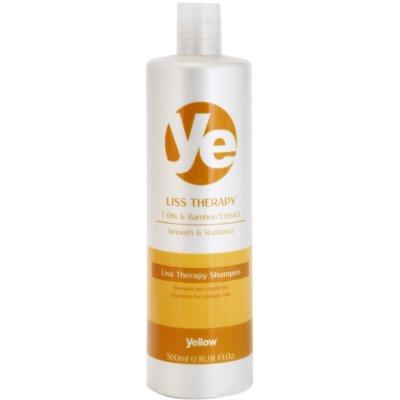glättendes Shampoo für chemisch behandeltes Haar