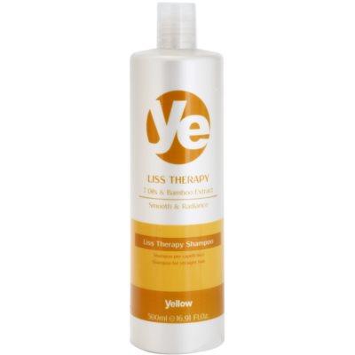 champô alisante para cabelo quimicamente tratado