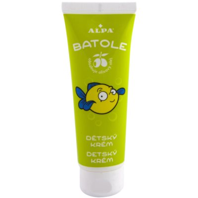 Children's Cream With Olive Oil