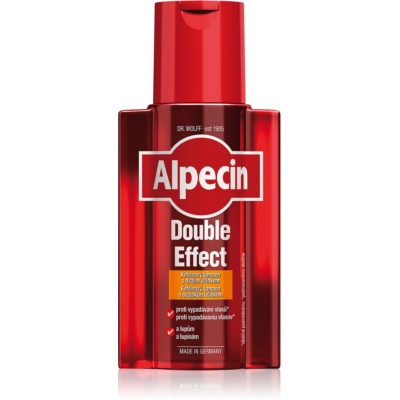 Alpecin Double Effect Caffeine Shampoo For Men Against Hair Loss And Danruff