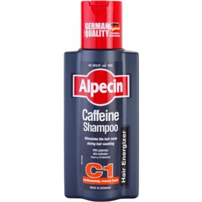 Alpecin Hair Energizer Coffeine Shampoo C1 champú para hombre con cafeína estimulante del crecimiento del cabello