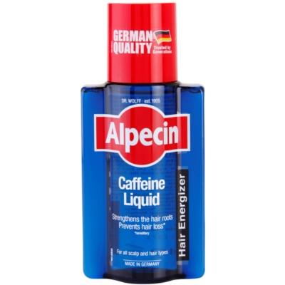 Alpecin Hair Energizer Caffeine Liquid tónico de cafeína contra queda capilar para homens