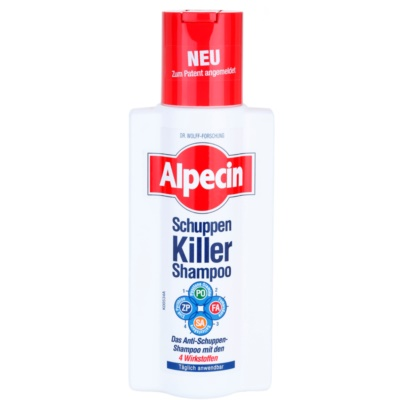Alpecin Schuppen Killer Anti-Ross Shampoo